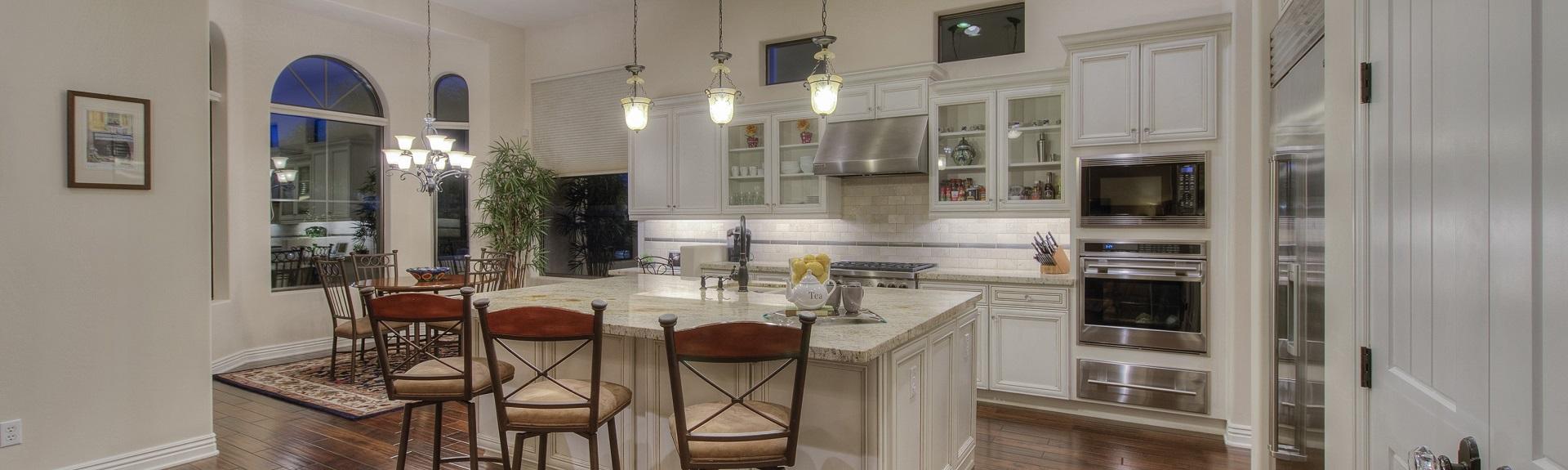 Scottsdale homes gourmet kitchen